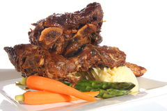 De ribben van het rundvlees Stock Afbeeldingen