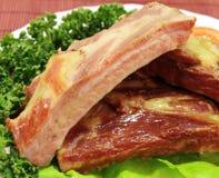 De ribben van het varkensvlees Stock Fotografie