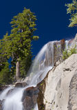 De Richel van de waterval stock afbeeldingen