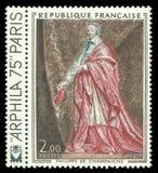 De Richelieu cardinal por Philippe de Champaigne Foto de Stock