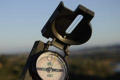 De Richting van het kompas Stock Fotografie