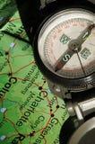 De Richting van het kompas Stock Foto's