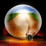 De richting van het kompas Royalty-vrije Stock Afbeeldingen