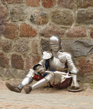 De ridder op rust Stock Foto