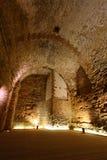 De ridder templar kasteel van de acre, Stock Afbeeldingen