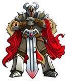 De ridder van de kruisvaarder Royalty-vrije Stock Foto