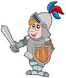 De ridder van het beeldverhaal Royalty-vrije Stock Afbeelding