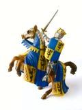 De ridder van het stuk speelgoed stock afbeeldingen