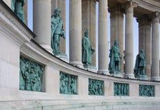 De Ridders van Boedapest stock foto's