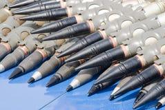 De riem van munitie Stock Afbeeldingen