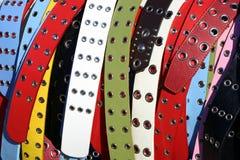 De riemen van Multicolored vrouwen Stock Foto
