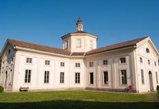 De rigueur le baroque architectural tard du della Besana de Rotonda dedans images stock