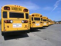 De Rij van de bus Royalty-vrije Stock Foto's