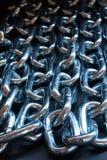 De rij van de ketting - kleur Stock Foto's