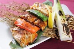 De rij van vissen Stock Fotografie