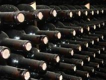 De Rijen van de wijn stock afbeeldingen