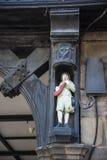 De Rijen zijn Tudor Black en Witte Gebouwen in Chester de stad van de provincie van Cheshire in Engeland royalty-vrije stock foto's