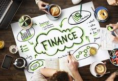 De Rijkdom van financiëninkomens investeert Activaconcept royalty-vrije stock afbeeldingen