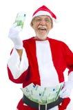 De rijke Kerstman royalty-vrije stock foto