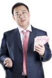 De rijke man van Azië Royalty-vrije Stock Afbeeldingen