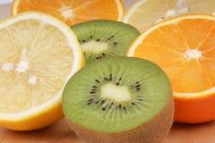 De rijke vruchten van de vitamine C Royalty-vrije Stock Foto's