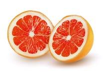 De rijpe grapefruit op een transparante achtergrond vector illustratie