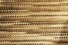 De rijs geweven Achtergrond van de Textuur Stock Fotografie