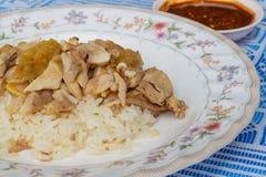 De rijst van de Hainanesekip Stock Afbeelding