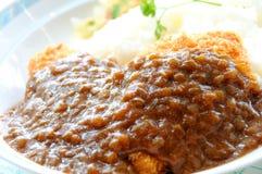 De rijst van de kerrie Royalty-vrije Stock Foto's