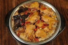 De rijst van de kip Royalty-vrije Stock Afbeeldingen