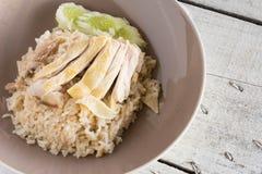 De rijst van de kip royalty-vrije stock afbeelding