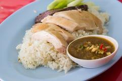 De rijst van de kip Royalty-vrije Stock Fotografie