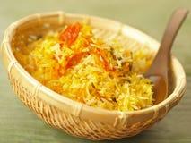 De rijst van de saffraan Stock Foto's