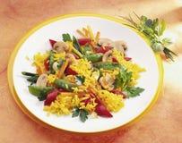 De rijst van de saffraan Royalty-vrije Stock Afbeelding