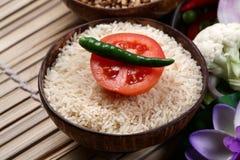 De rijst van de tomaat Stock Afbeeldingen