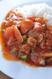 De rijst van de tomatenwortel Royalty-vrije Stock Fotografie