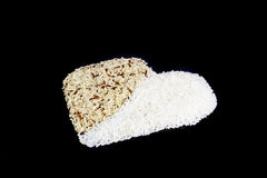 De rijst van de twee toonhaard Royalty-vrije Stock Foto's