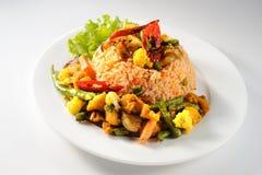 De Rijst van Tom Yum Fried Stock Foto's