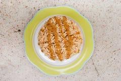 De rijstcracker (Khao-Tan) is het Thaise dessert stock foto's