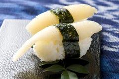 De rijsushi van haringen Stock Fotografie