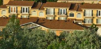 De Rijtjeshuizen van Nice in Utah Royalty-vrije Stock Afbeeldingen