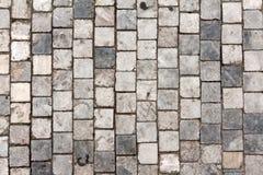 De rijweg van de steen stock fotografie