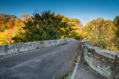 De rijweg van de Twizelbrug stock afbeeldingen