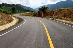 De rijweg van het asfalt Royalty-vrije Stock Foto