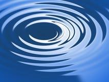 De rimpeling van het water Stock Afbeelding
