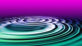 De rimpeling van het water Stock Afbeeldingen