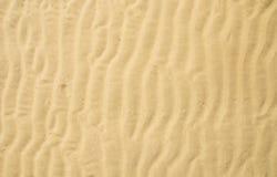 De rimpeling van het zand stock foto