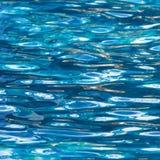 De Rimpelingen van het water Stock Afbeelding