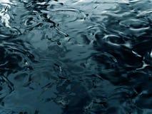 De rimpelingen van het water royalty-vrije illustratie