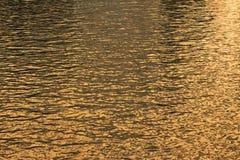 De Rimpelingen van het water Stock Fotografie